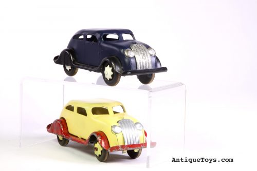 Marx Chrysler Airflow Steel Cars