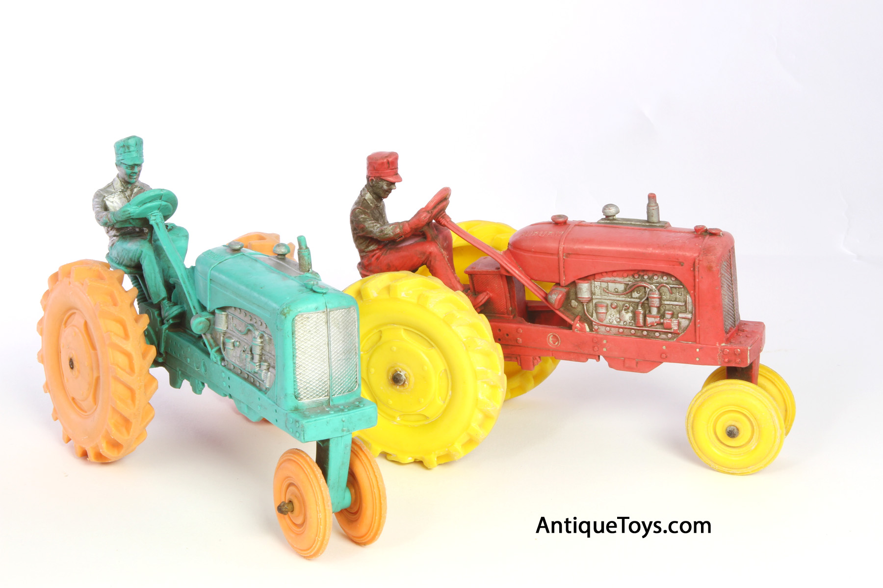 Rubber Toy Tractors by Auburn Antique Toys for Sale