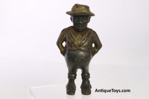 Black Sharecropper Cast Iron bank