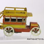 Tin Toy Penny toy bus