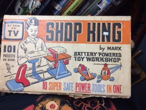Vintage toy for sale called Shop King by Marx.