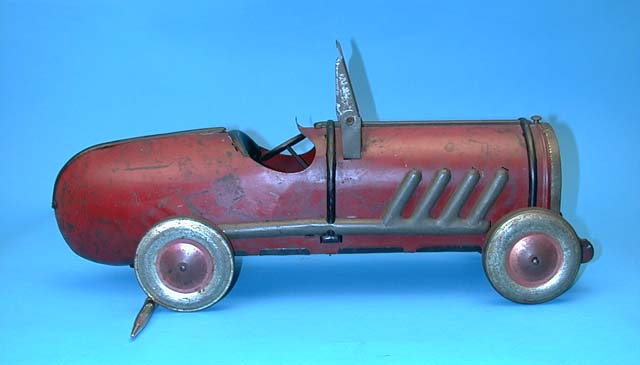 Kiddies Oh Boy Race car tin