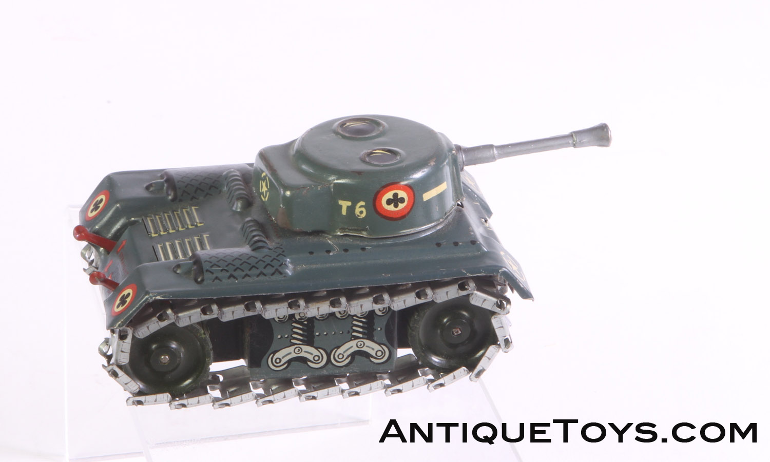 Wood Stoves For Sale >> x-SOLD Tin Tank T6 by Arnold West Germany - Antique Toys ...