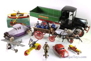 Antique toys and old toys for sale as well as vintage toys.