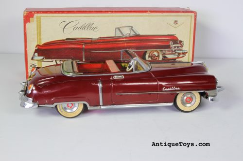 Beautiful Alps Cadillac tin car