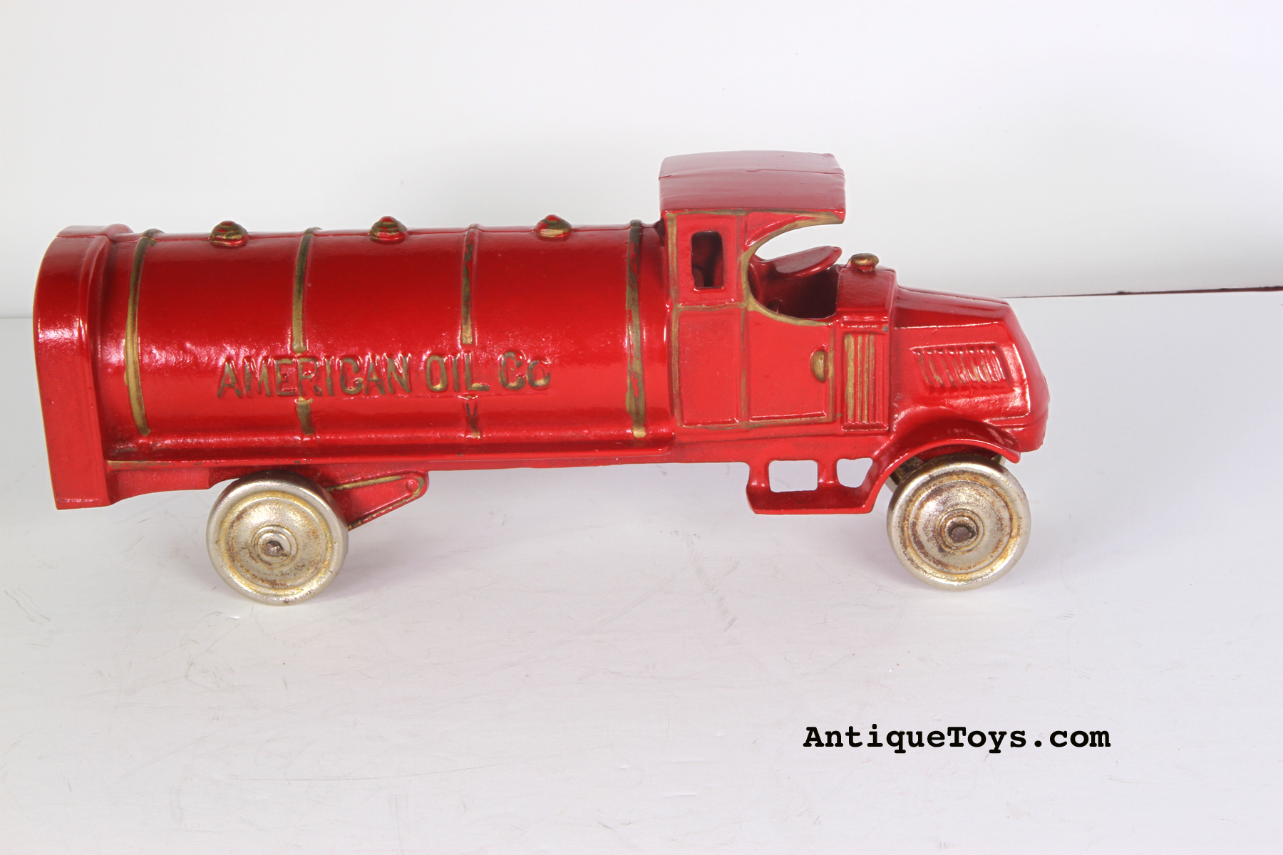 American Oil Cast Iron toy by Dent Manufacturing.