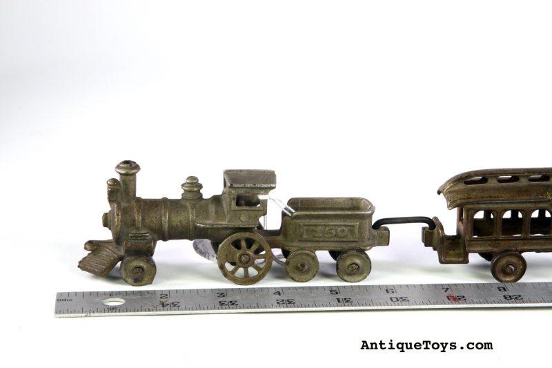 Nycrr Cast Iron Train: Arcade Cast Iron Train No. 102 Circa 1902