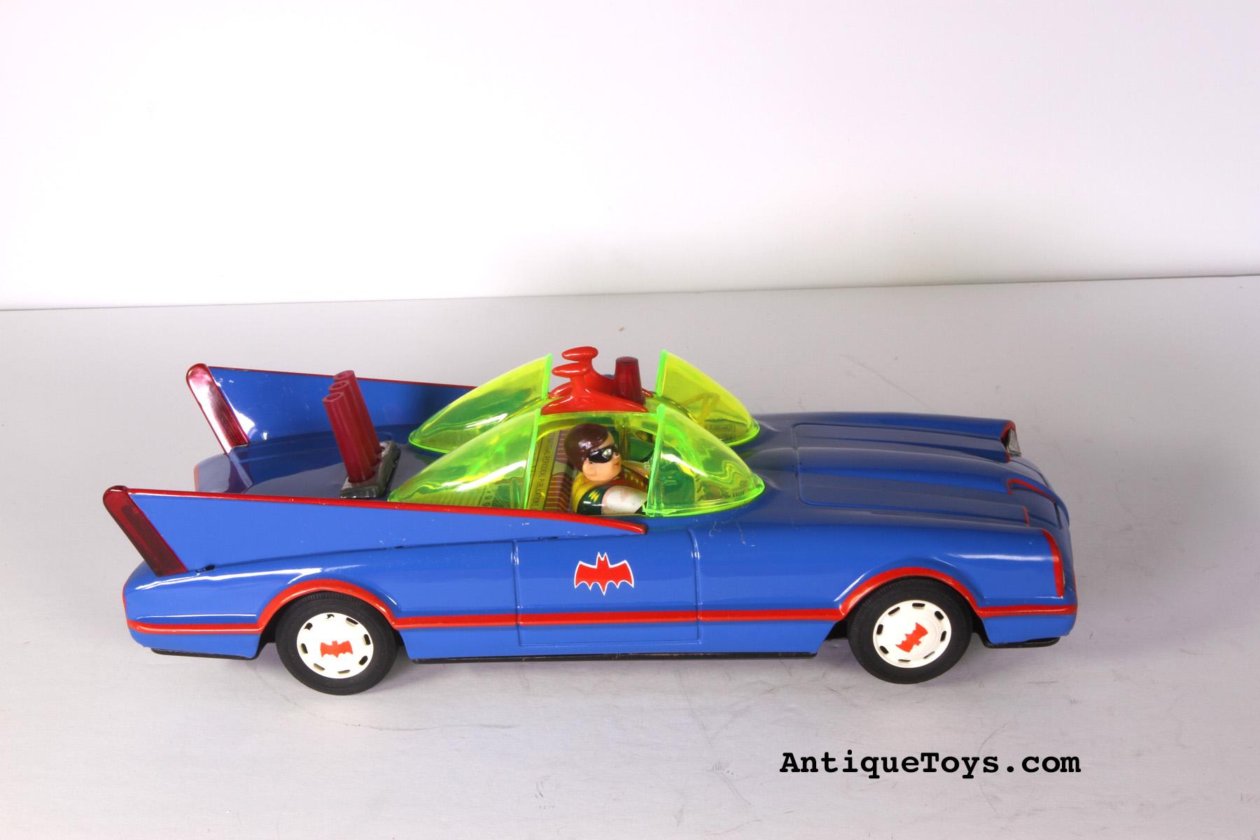 Batmobile Tin Car from Ahi Japan - Antique Toys for Sale
