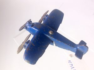 Cast Iron toy Fokker Triplane, possibly by Vindex and potentially by Arcade too.