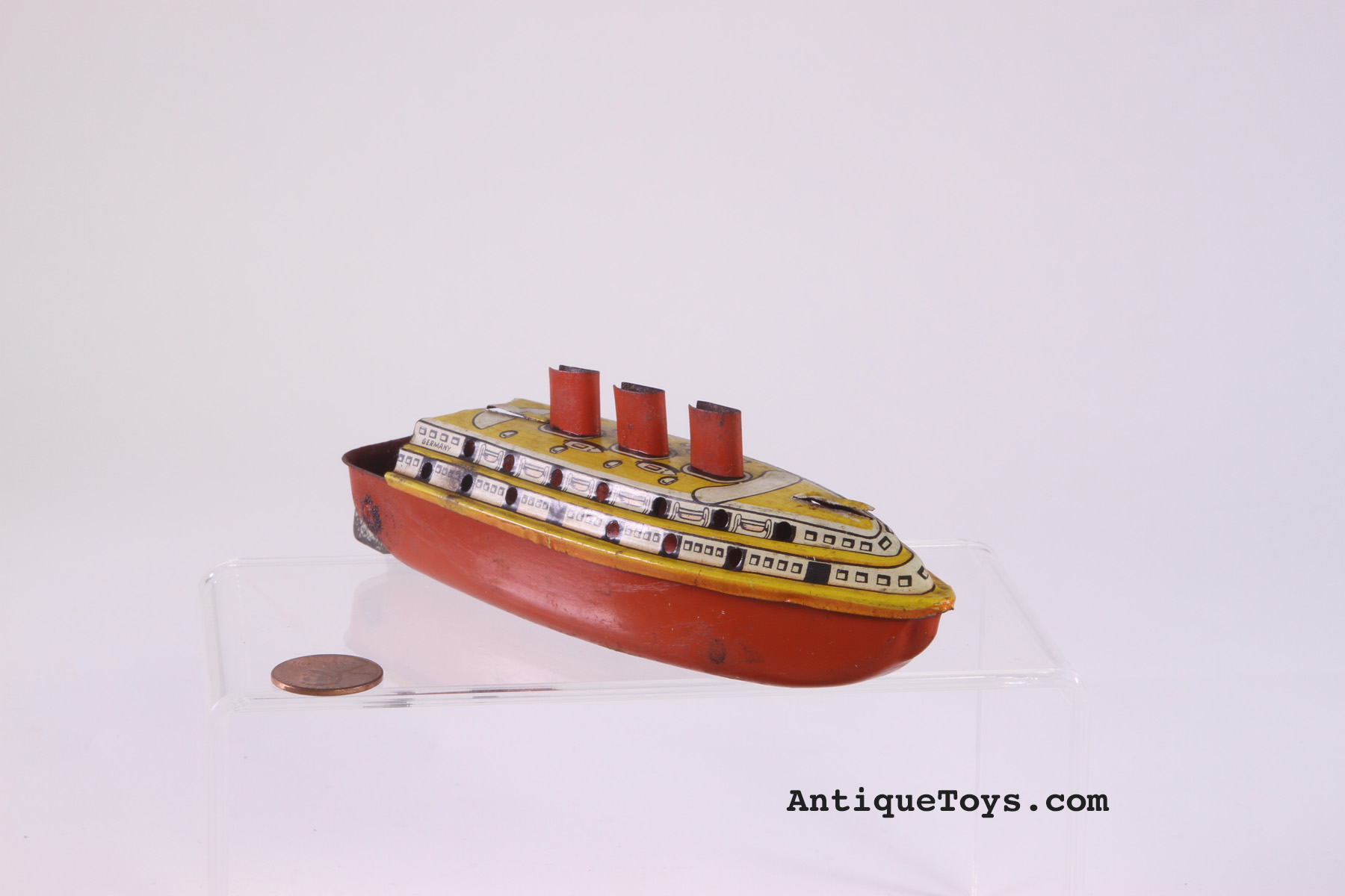 X Sold Penny Toy Boat Or Pop Pop German Or American