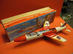 Tin Litho Tetsujin 28 Sky Jet.