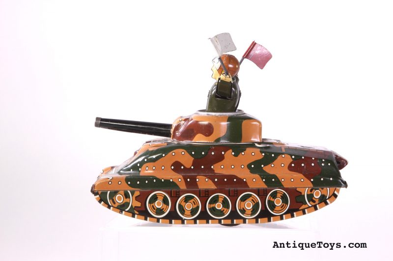 Japanese-tin-tank-toy