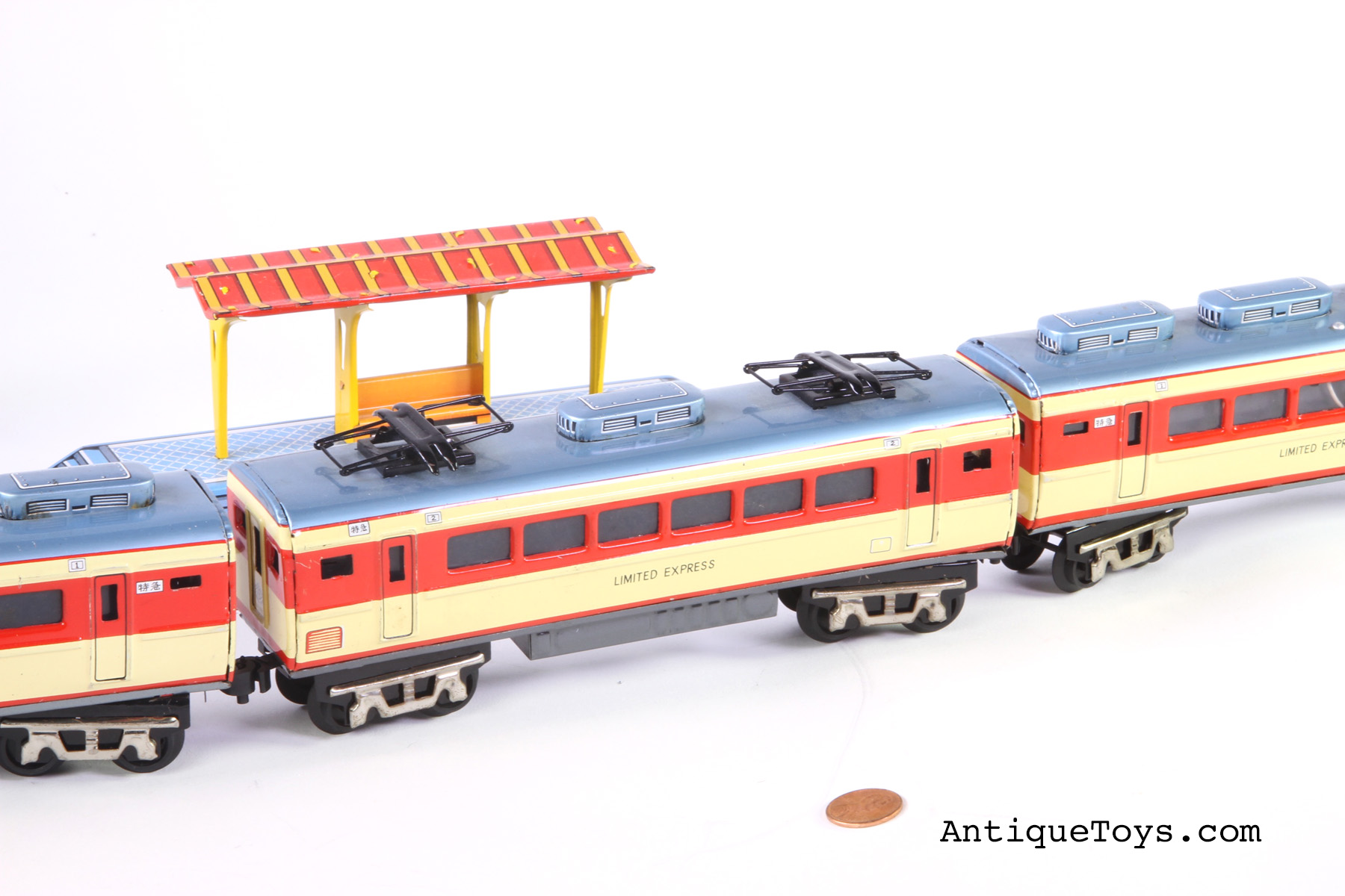 Japanese Tin Train Limited Express Nl Nippon Line Sold