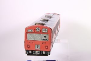 Japanese tin toy train, located in Japan and imported to the US