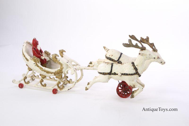 Hubley-Santa-Reindeer
