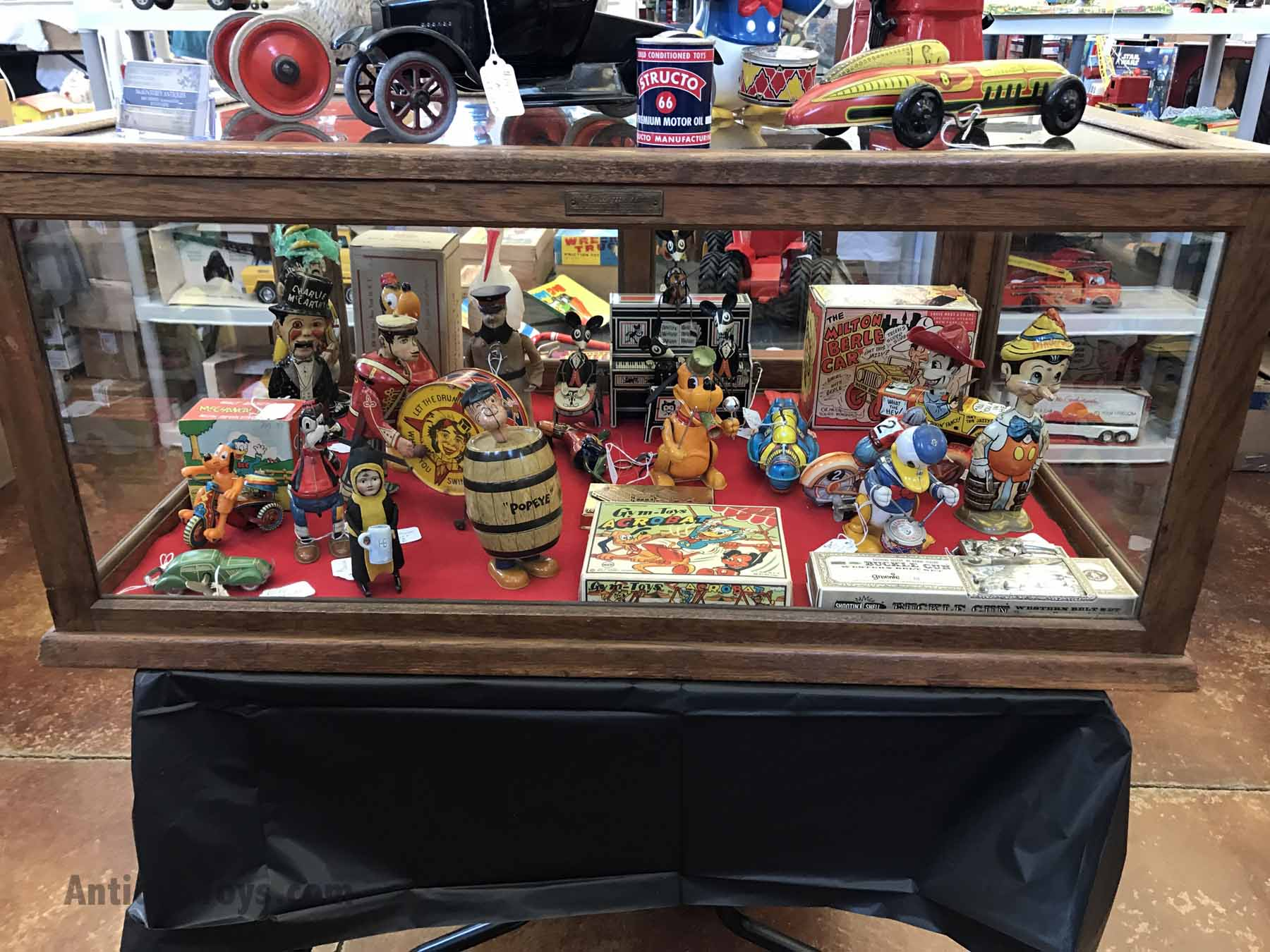 Flying Car For Sale >> Chicago Toy Show 2017 Review and Trends - Antique Toys for ...