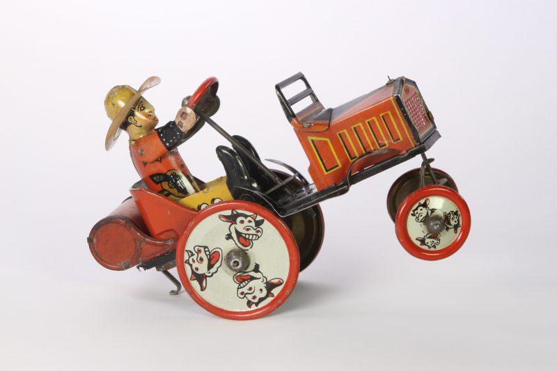 Marx-whoopee-car-cowboy-tin