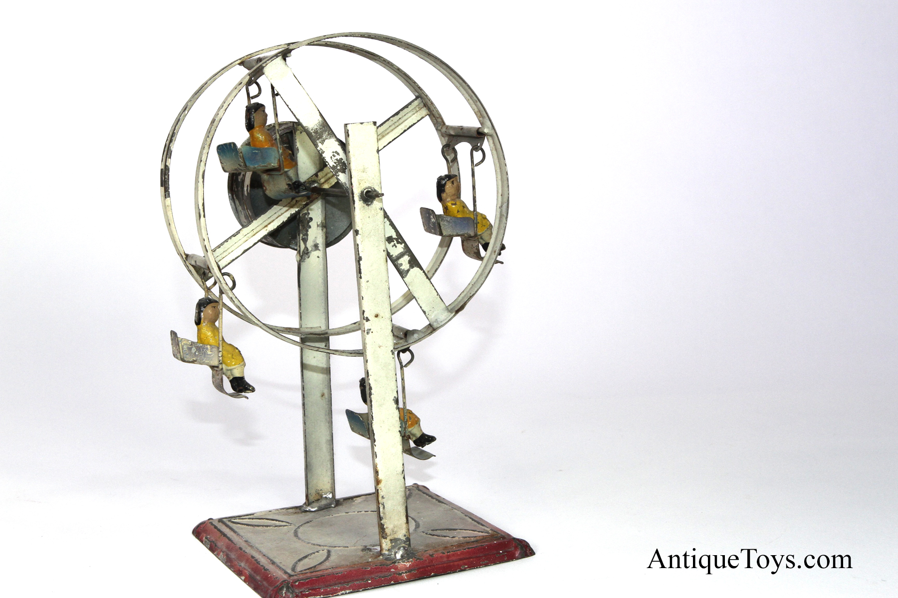 how to make a toy ferris wheel