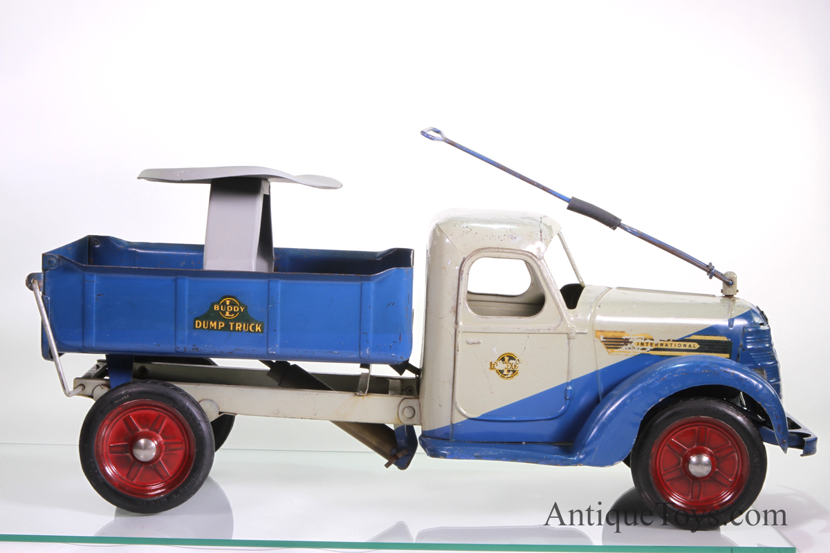 Buddy L International dump truck Ride \'Em for sale *sold* - Antique ...