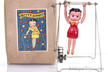 Betty Boop windup celluloid toy