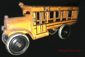 Dent Cast Iron school bus