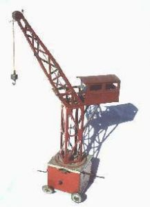 Steve McQueen collection crane toy
