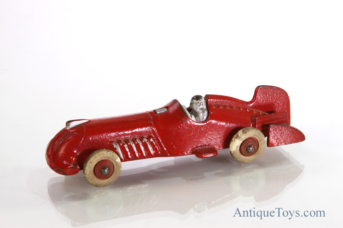 Cast Iron Race Car Toy
