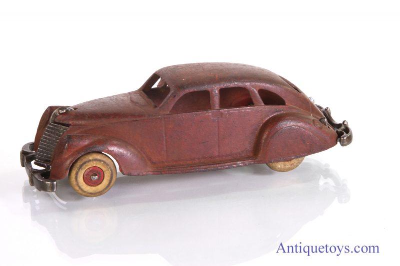Hubley cast iron toy car