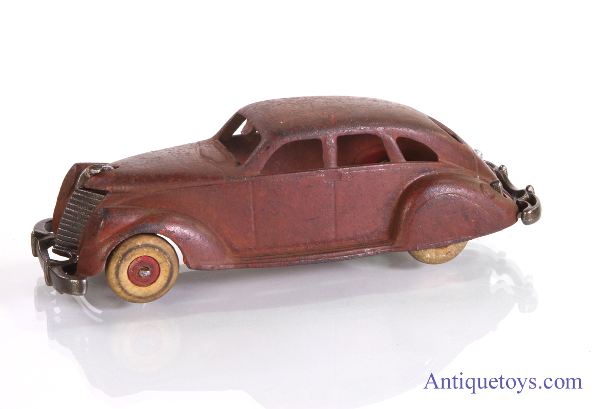 Hubley cast iron toy car