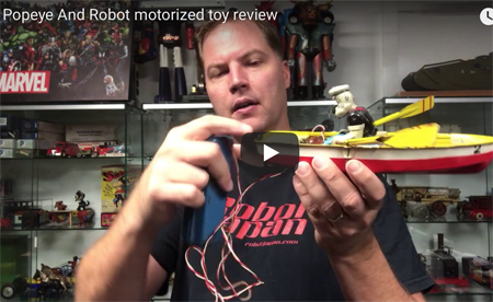 Popeye video toy review image