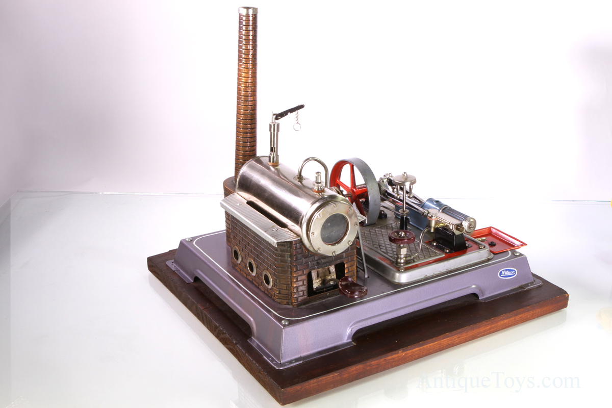 Wilesco Steam Engine D16 Antique Toys For Sale