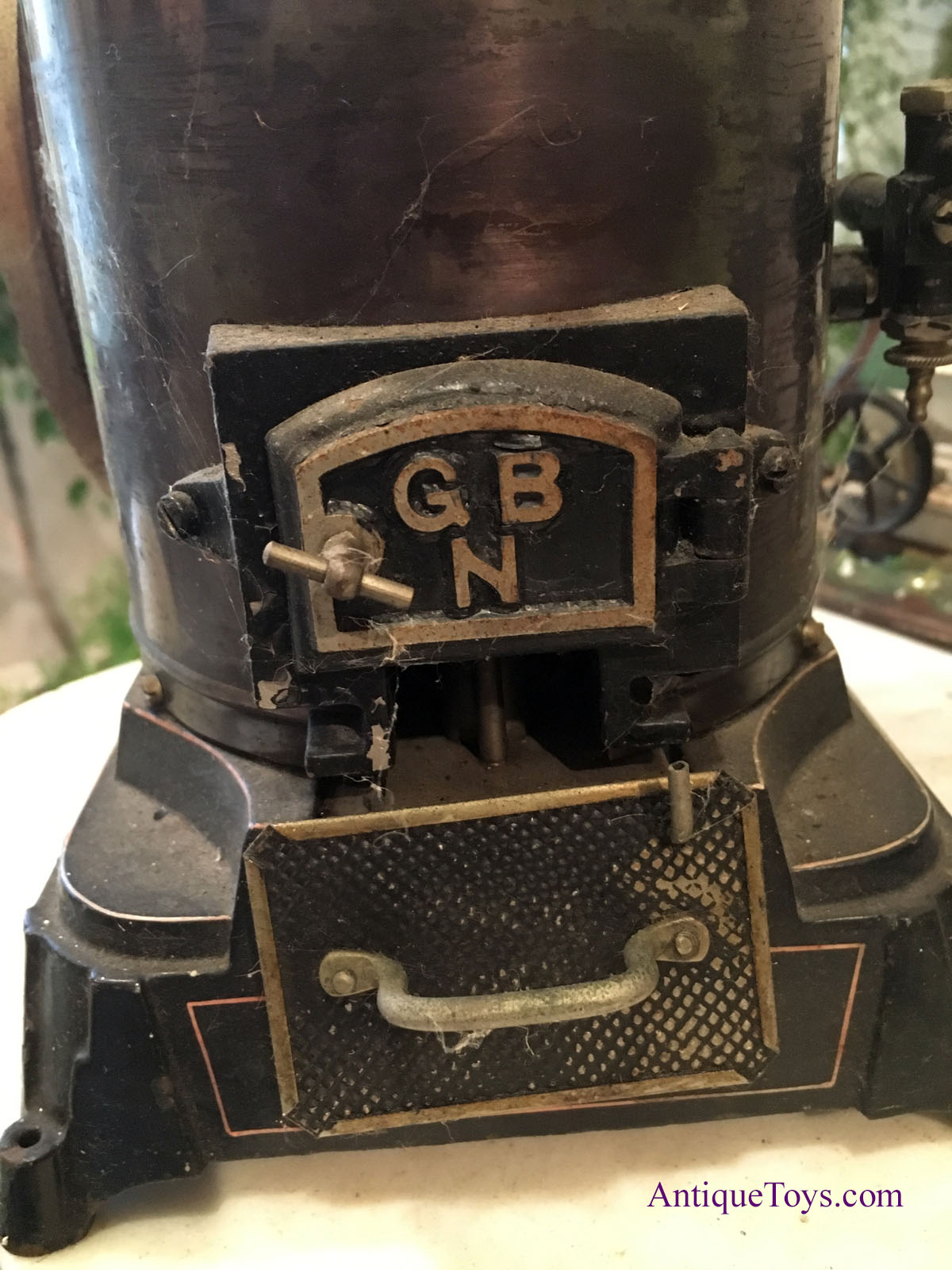 Bing G B N Steam Engine Extra Large Antique Toys For