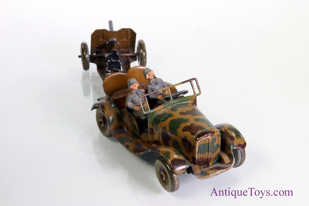 Tippco Armed Forces German Truck And Cannon Sold