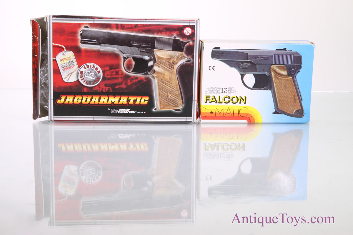 Edison Giocattoli Falcon And Jaguar Cap Gun For Sale Sold