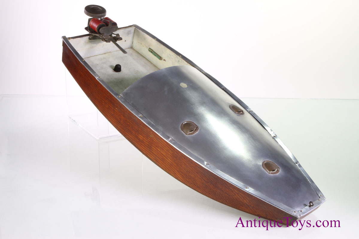 Boucher Polly Wog Boat With Electric Motor Sold