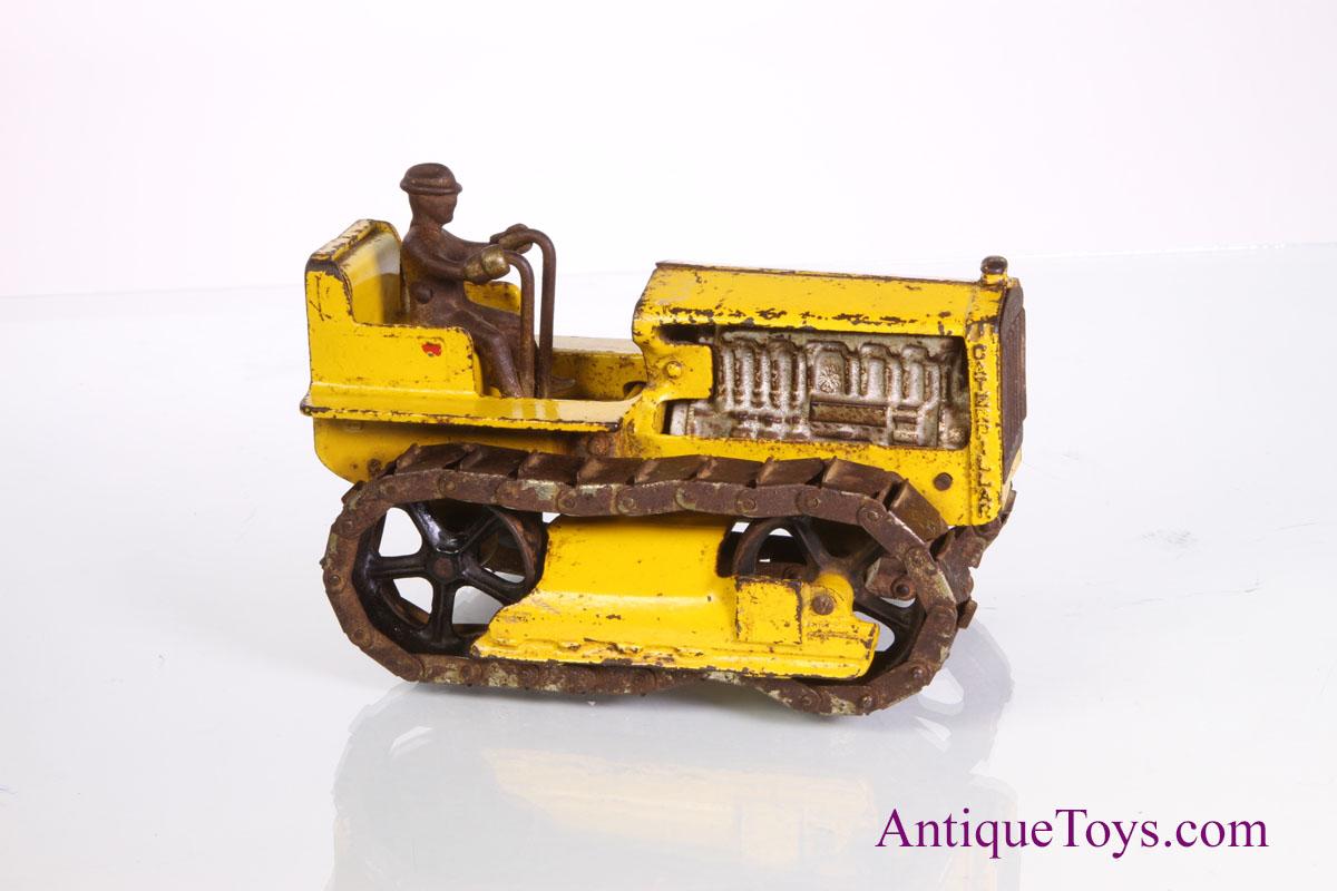 Vintage Arcade Games >> Arcade Caterpillar Disel Tractor toy with Tracks - Antique ...