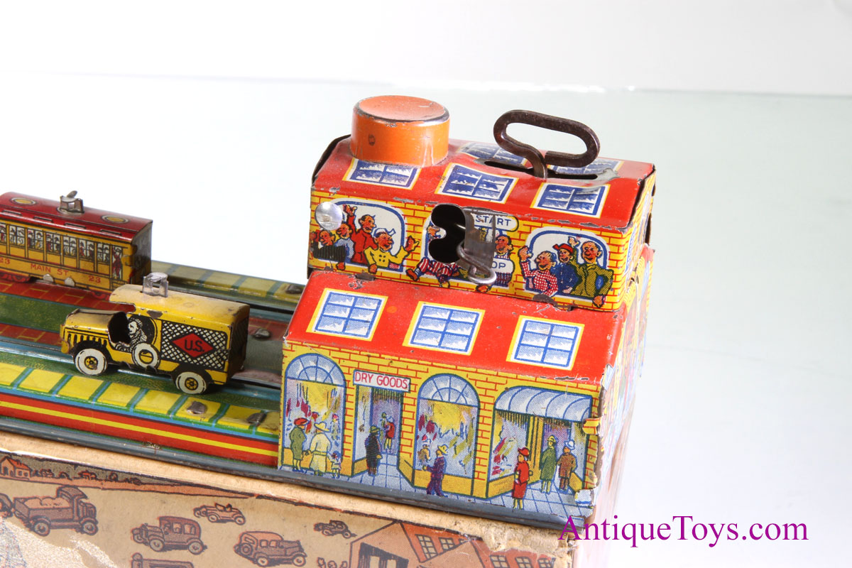 Marx Main Street Windup for sale *sold - Antique Toys for Sale