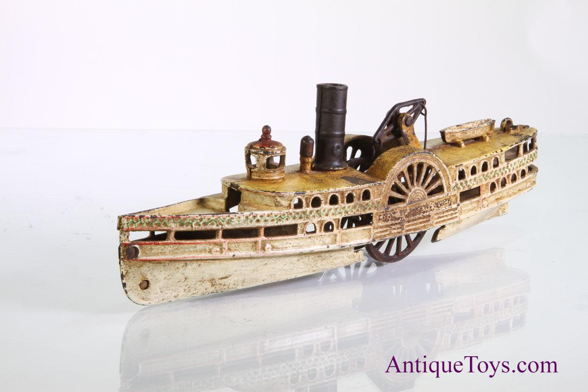 Wilkins Paddlewheel boat