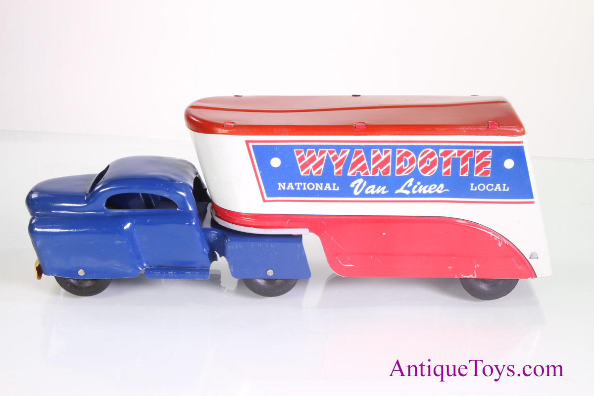Wyandotte Moving Truck Toy With Box For Sale Antique