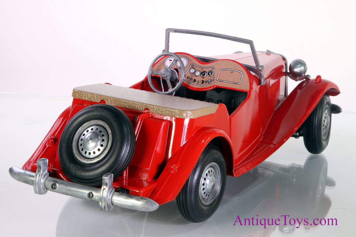 Iron Horse Motorcycles >> Red Doepke MG from 1950's toy for sale*sold* - Antique Toys for Sale