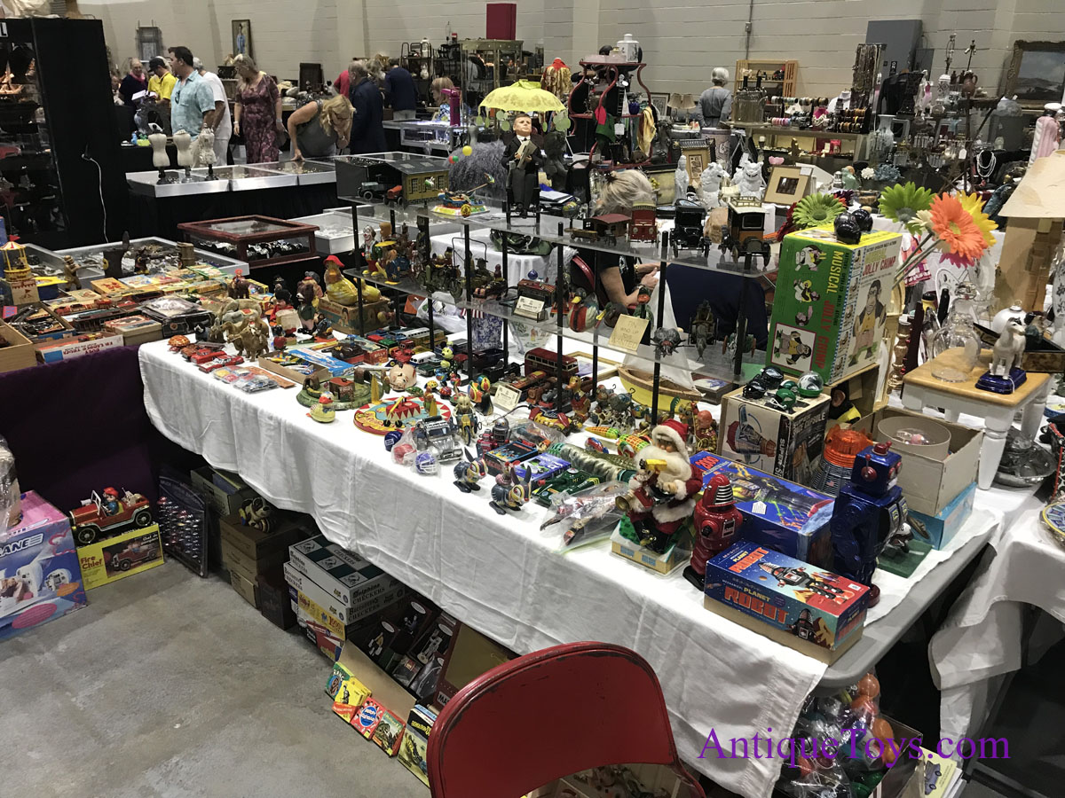 Palm Beach And Miami Toy Shows & Amp Recap Antique Toys For Sale
