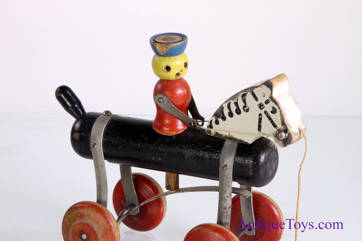 Tinker Toys For Boys : Tinkertoys pony tinker horse rider pull toy for