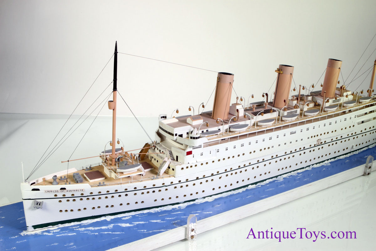 Ship Model Empress Of Australia Antique Toys For Sale - Cruise ship toys for sale