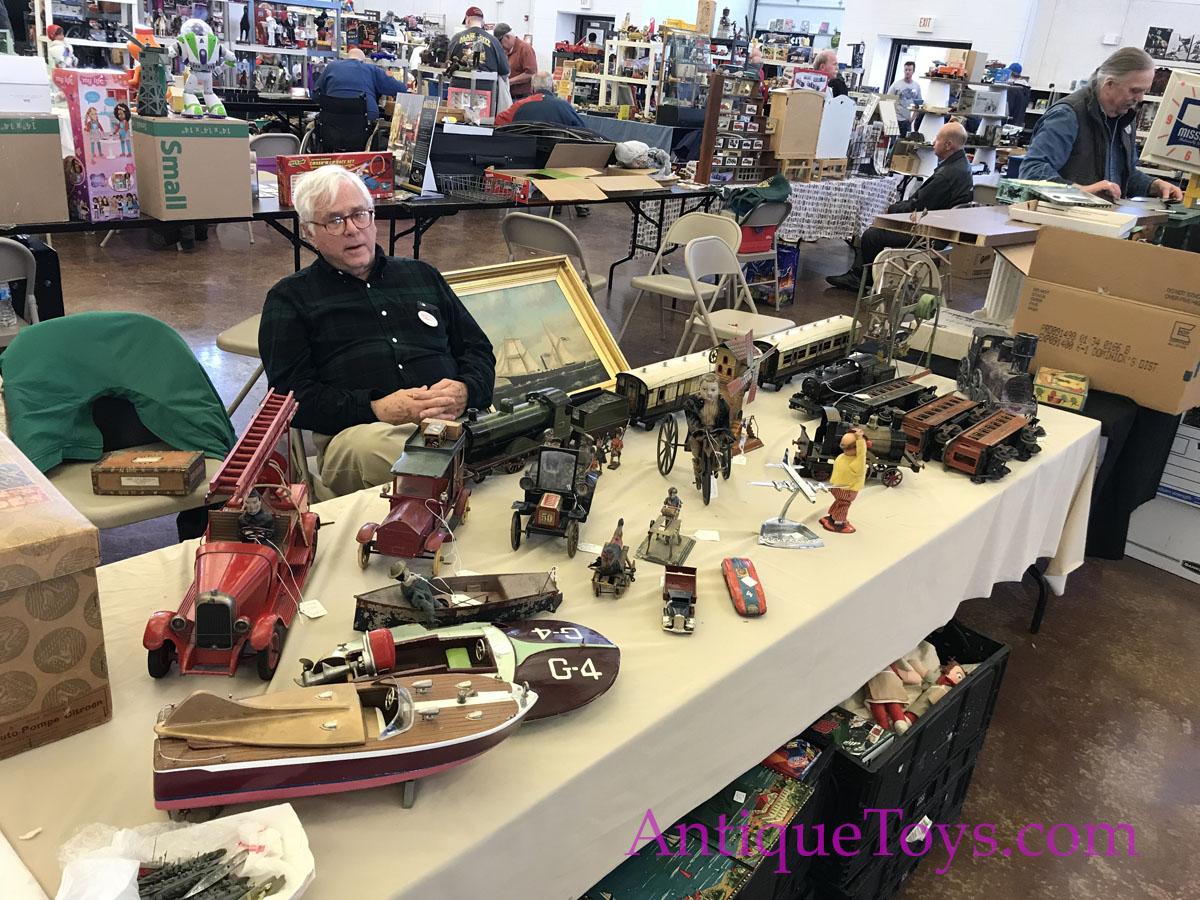 Chicago Toy Fair 2018 Antique Toys For Sale