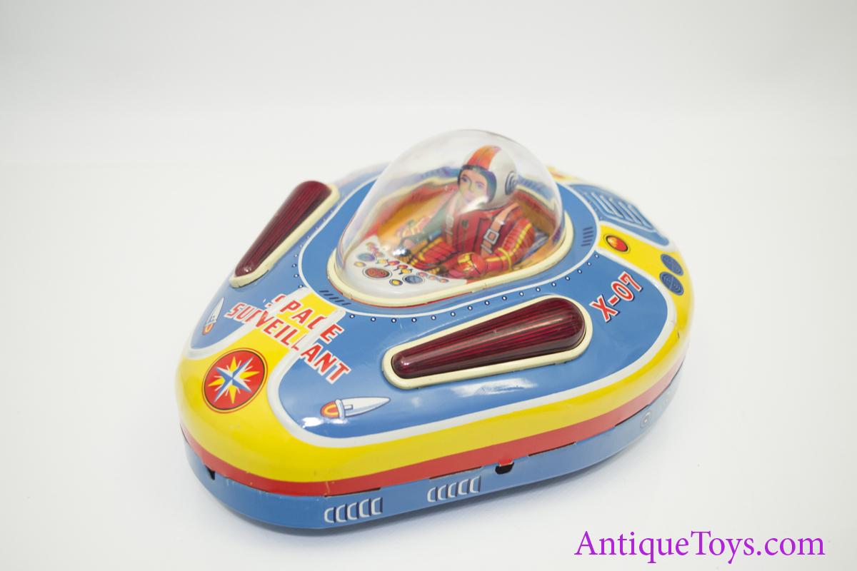 Masudaya Modern Toys X 07 Space Surveillant Space Ship