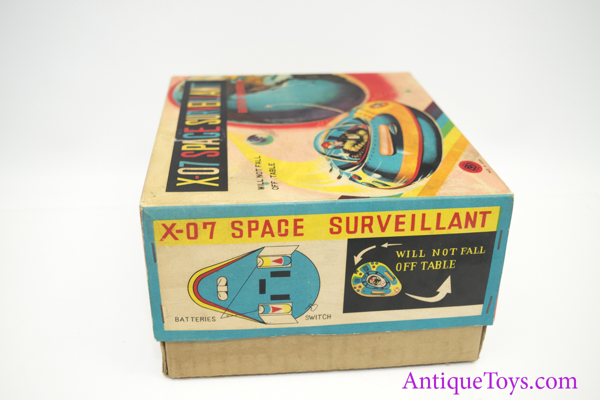 Masudaya Modern Toys X 07 Space Surveillant Space Ship