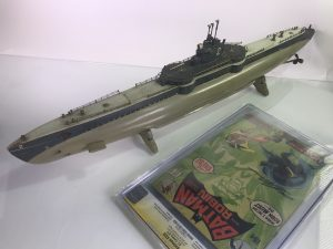 Toy Submarine and Antique Sub from AntiqueToys.com