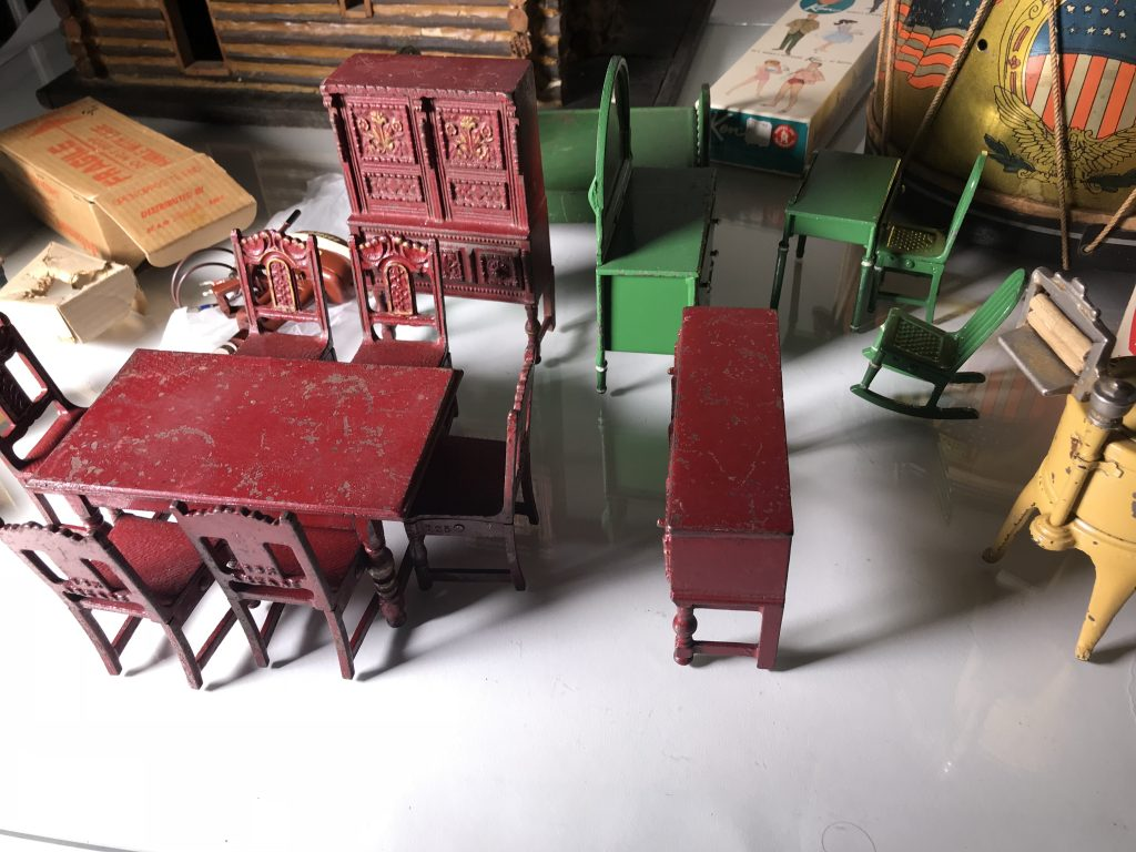 Cast Iron Doll House Furniture By Arcade Toys Sold To
