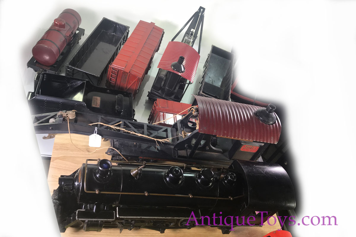 Crane Truck For Sale >> Buddy L Train Collection for Sale - Antique Toys for Sale