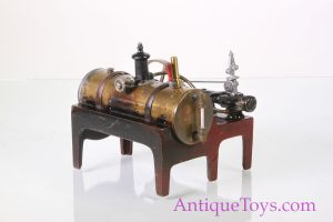 Old toy- steam engine by Weeden
